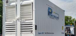 Power Pack Reefer Generator on Truck