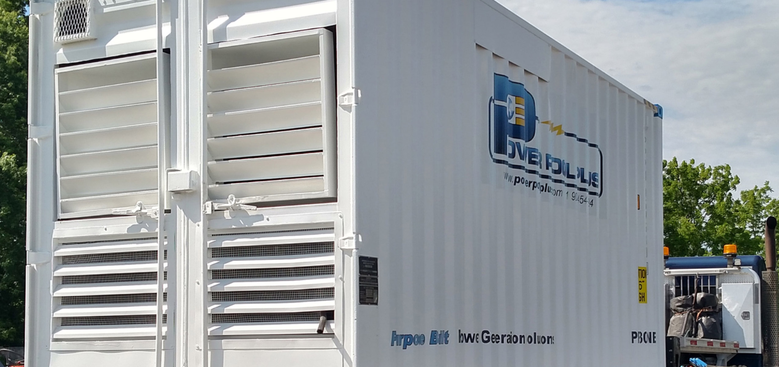 Power Pack Reefer Generator on Truck