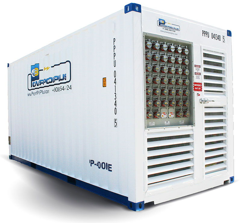 Power Pool Plus diesel reefer generator