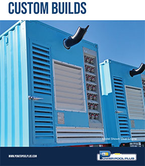 Power Pool Plus Custom Builds Brochure Cover
