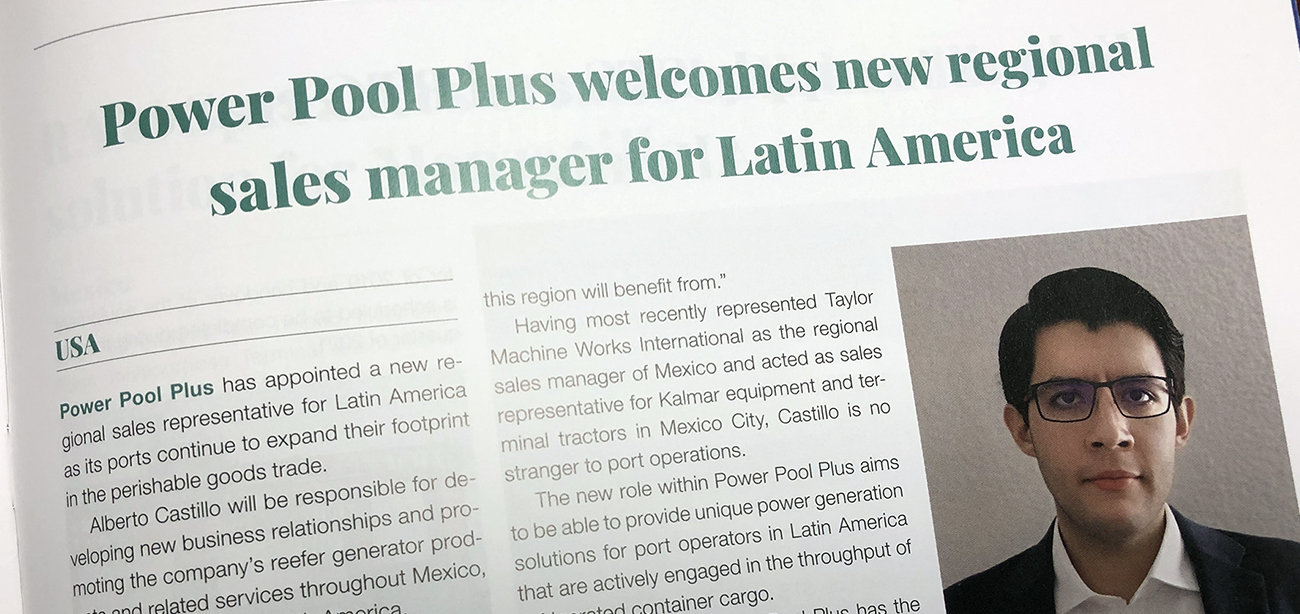 Jose Alberto Castillo Joins Power Pool Plus